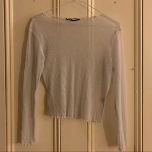 Sparkly Sheer Brandy Melville Top